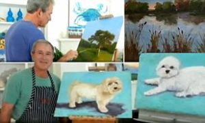 George W. Bush Dog Paintings