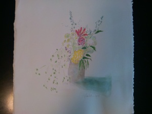 painting haslach's flowers